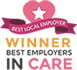 best employers in care awards logo