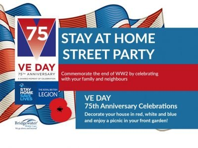 VE Day Stay at Home Party Bridgewater Home Care
